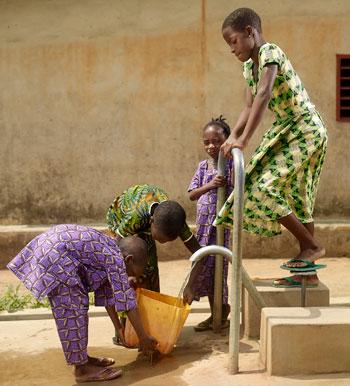 Zuiver water voor de school
