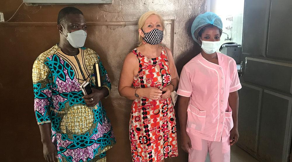 directie van de hospitalen in Boko en Papané